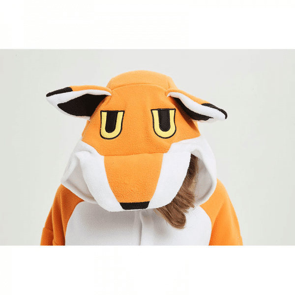kigurumi fox adulte tete