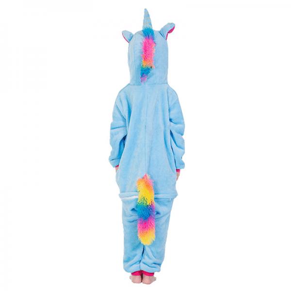 kigurumi pegase bleu enfant 1