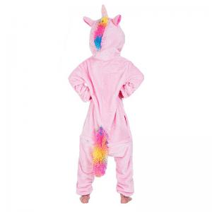 kigurumi pyjama pegase rose enfant 1