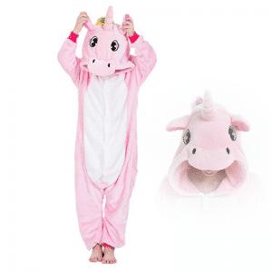 kigurumi pyjama pegase rose enfant main
