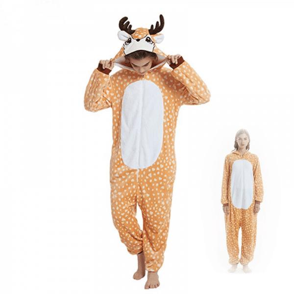 kigurumi pyjama cerf main