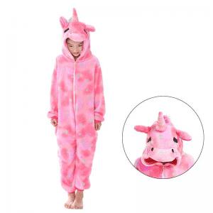 kigurumi pyjama licorne rose main