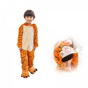 kigurumi pyjama tigrou main