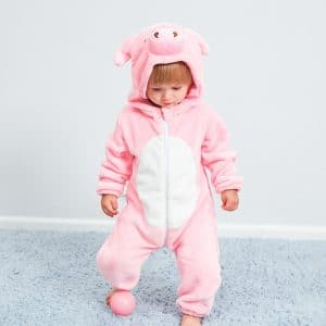 kigurumi cochon rose bebe