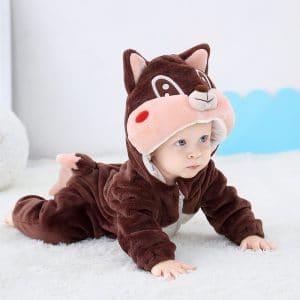 kigurumi ecureuil bebe