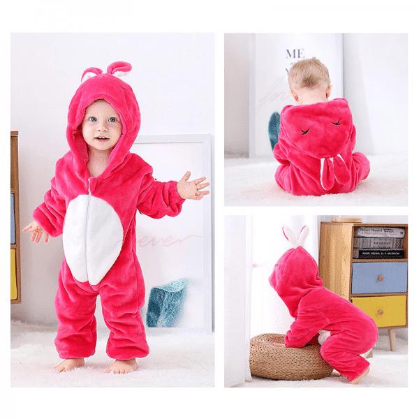 kigurumi lapin rouge bébé1