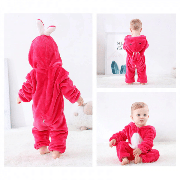 kigurumi lapin rouge bébé2