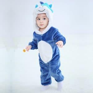 kigurumi licorne bleu bebe2