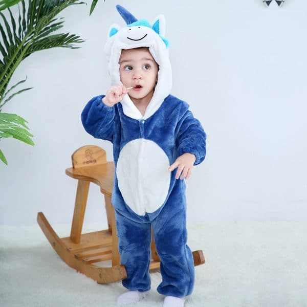 kigurumi licorne bleu bebe3