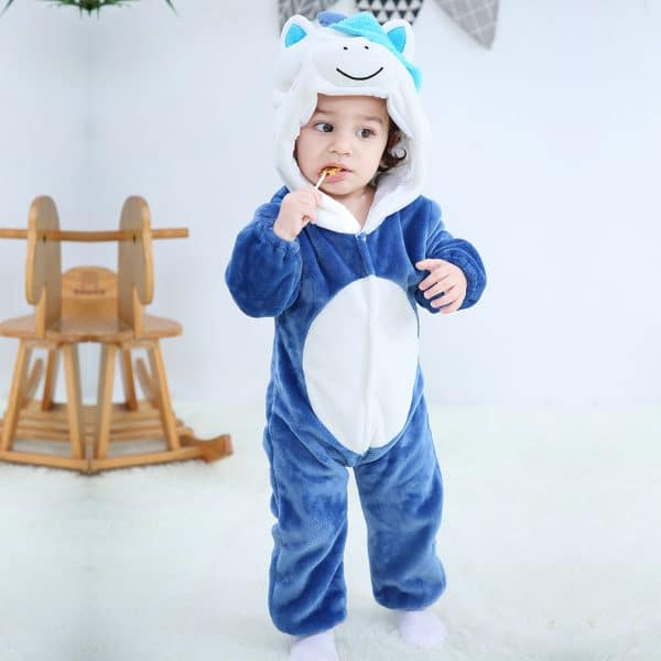 kigurumi licorne bleu bebe4