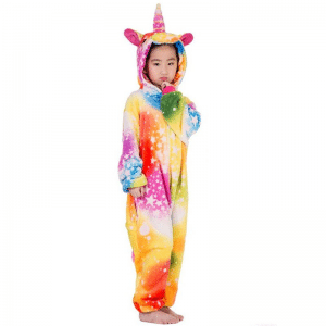 kigurumi licorne colorful