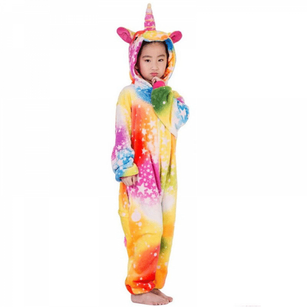 kigurumi licorne colorful