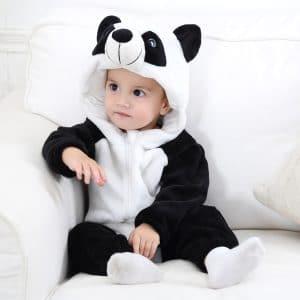 kigurumi panda bebe