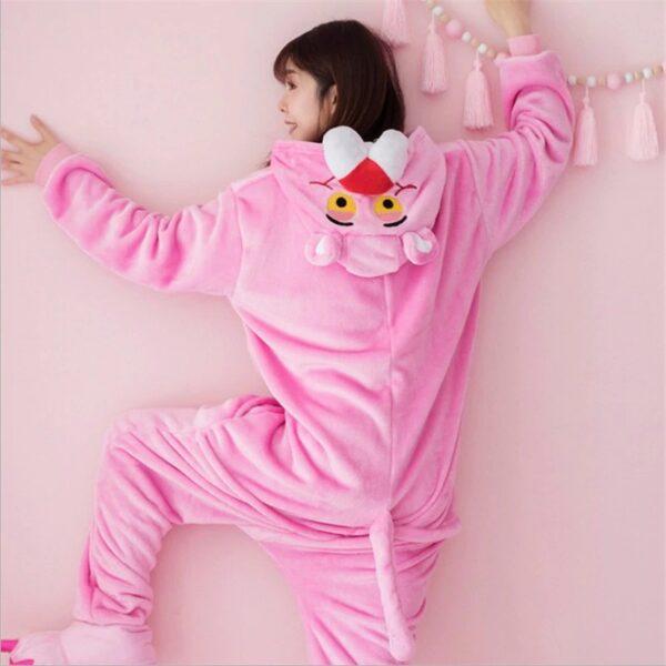 Pyjama panthère rose