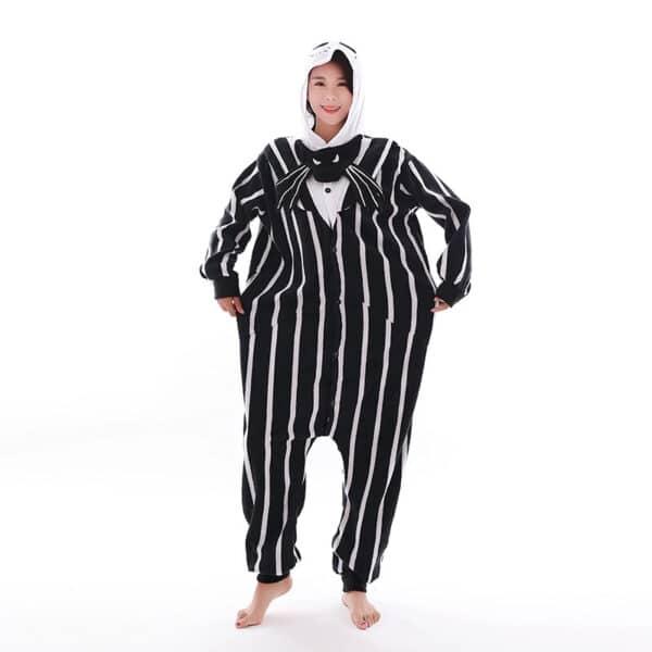 Pyjama Kigurumi Jack Skellington (L'Étrange Noël de monsieur Jack)