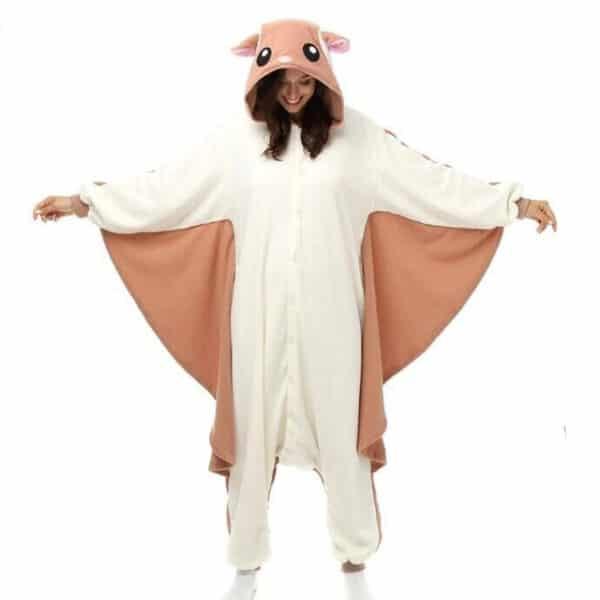 pyjama kigurumi ecureuil volant