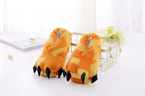 kigurumi chaussons girafe