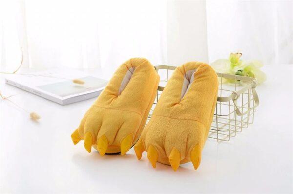 kigurumi chaussons jaune