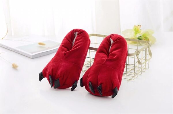 kigurumidojo chaussons rouge
