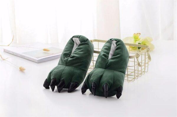 kigurumidojo chaussons vert