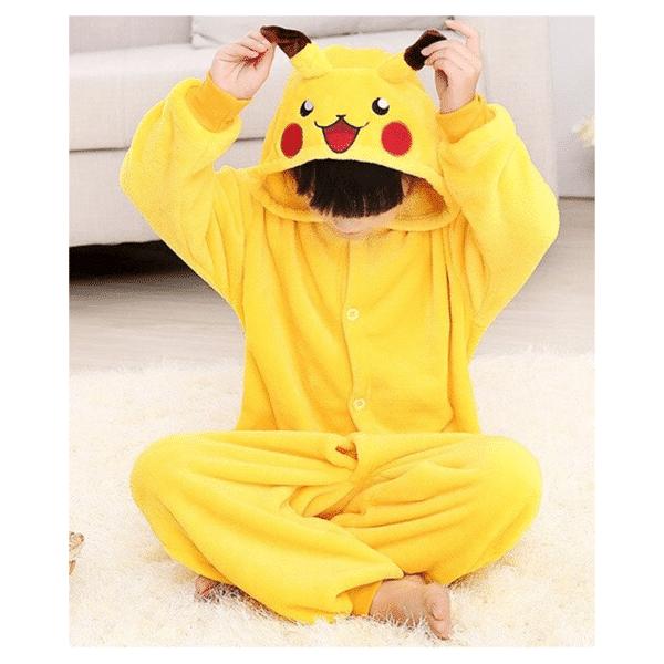 kigurumi pikachu enfant 1
