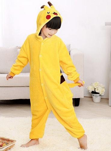 kigurumi pikachu enfant2