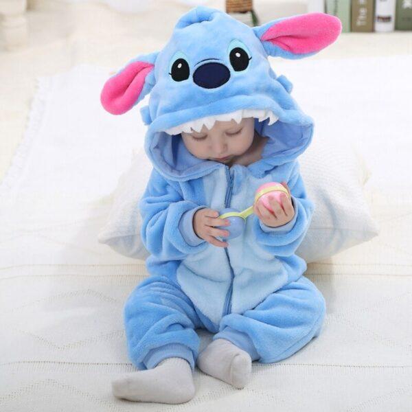 kigurumi stitch bébé 3