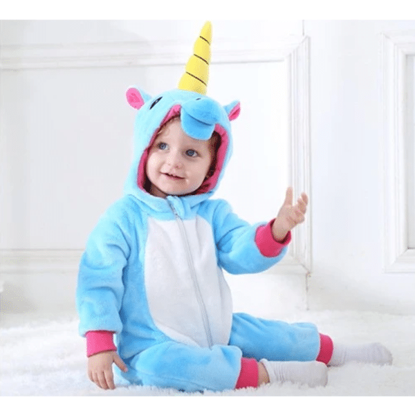 kigurumi licorne bleu bébé 6